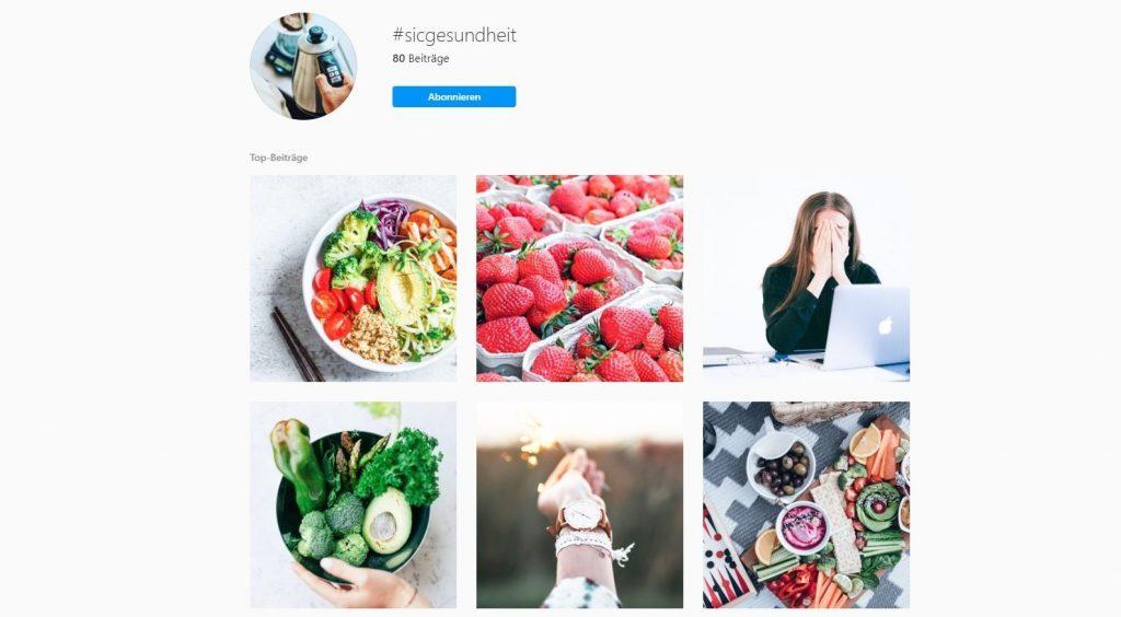 Instagram Hashtags SIC